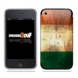 Drapeau Italie Skin iPhone 3G et 3GS
