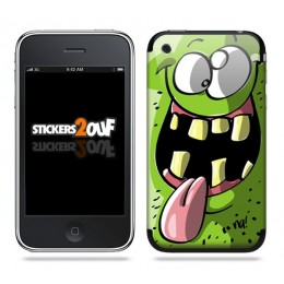 Monstre Skin iPhone 3G et 3GS