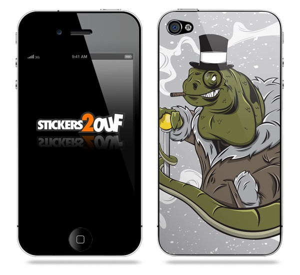 Lizard iPhone 4 et 4S