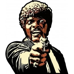 Samuel L Jackson PulpFiction LIMITED EDITION