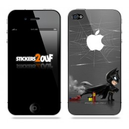 Bat-Spidey iPhone 4 et 4S