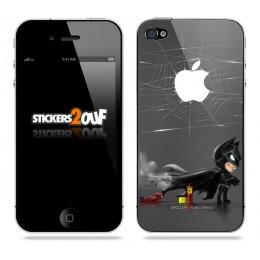 Bat-Spidey iPhone 4 et 4S