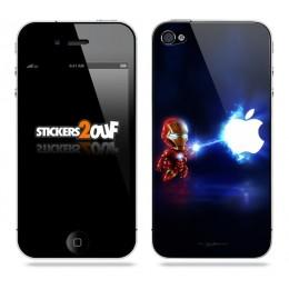 Mini Ironman iPhone 4 et 4S