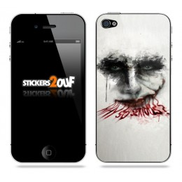 Why So Serious ? iPhone 4 et 4S