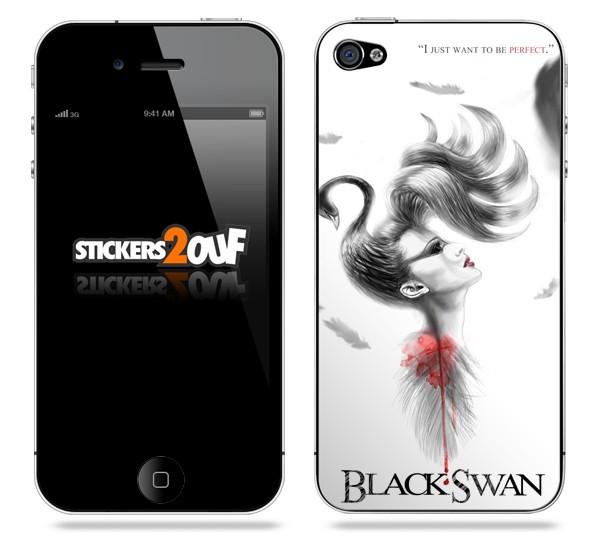 BlackSwan iPhone 4 et 4S