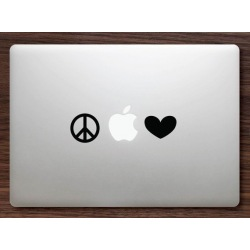 Peace & Love Macbook