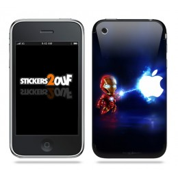 Mini IronMan iPhone 3G et 3GS