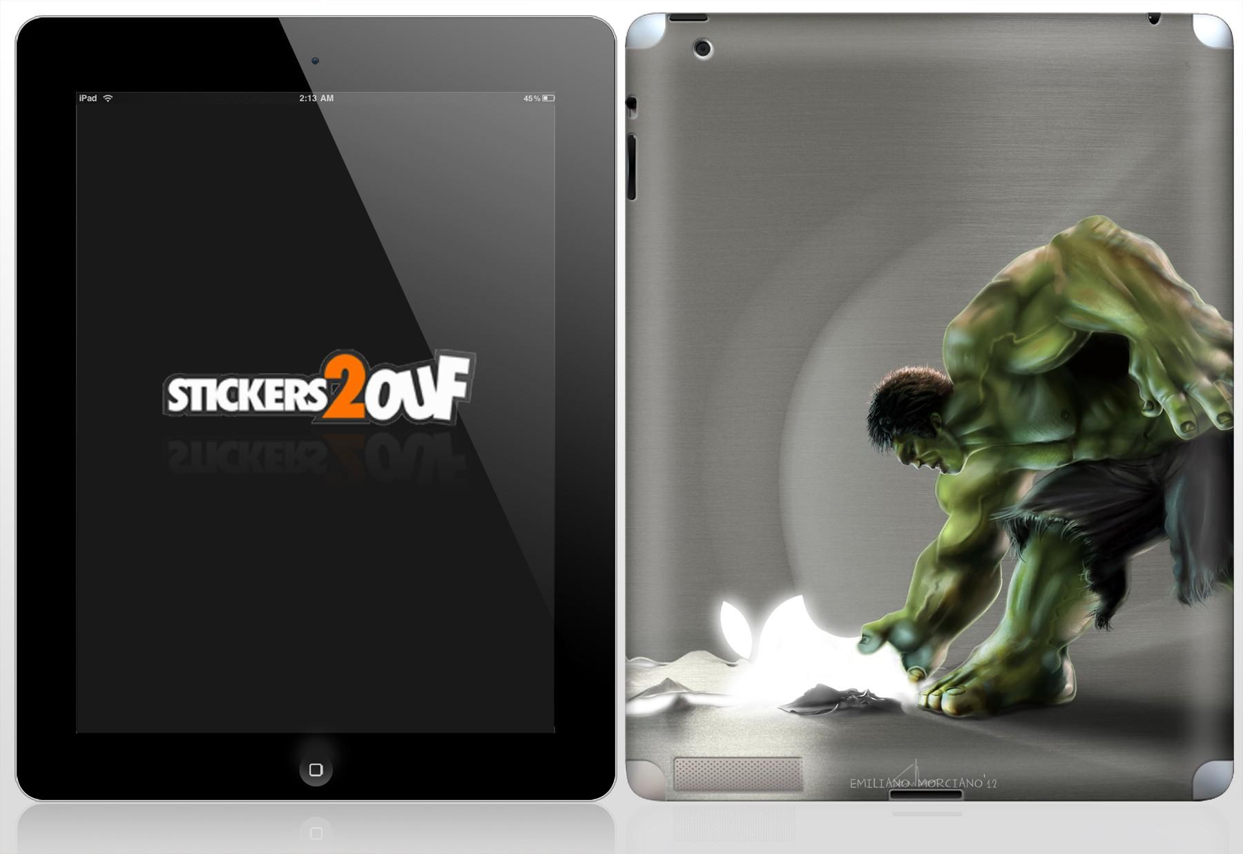 Hulk iPad 2 et Nouvel iPad