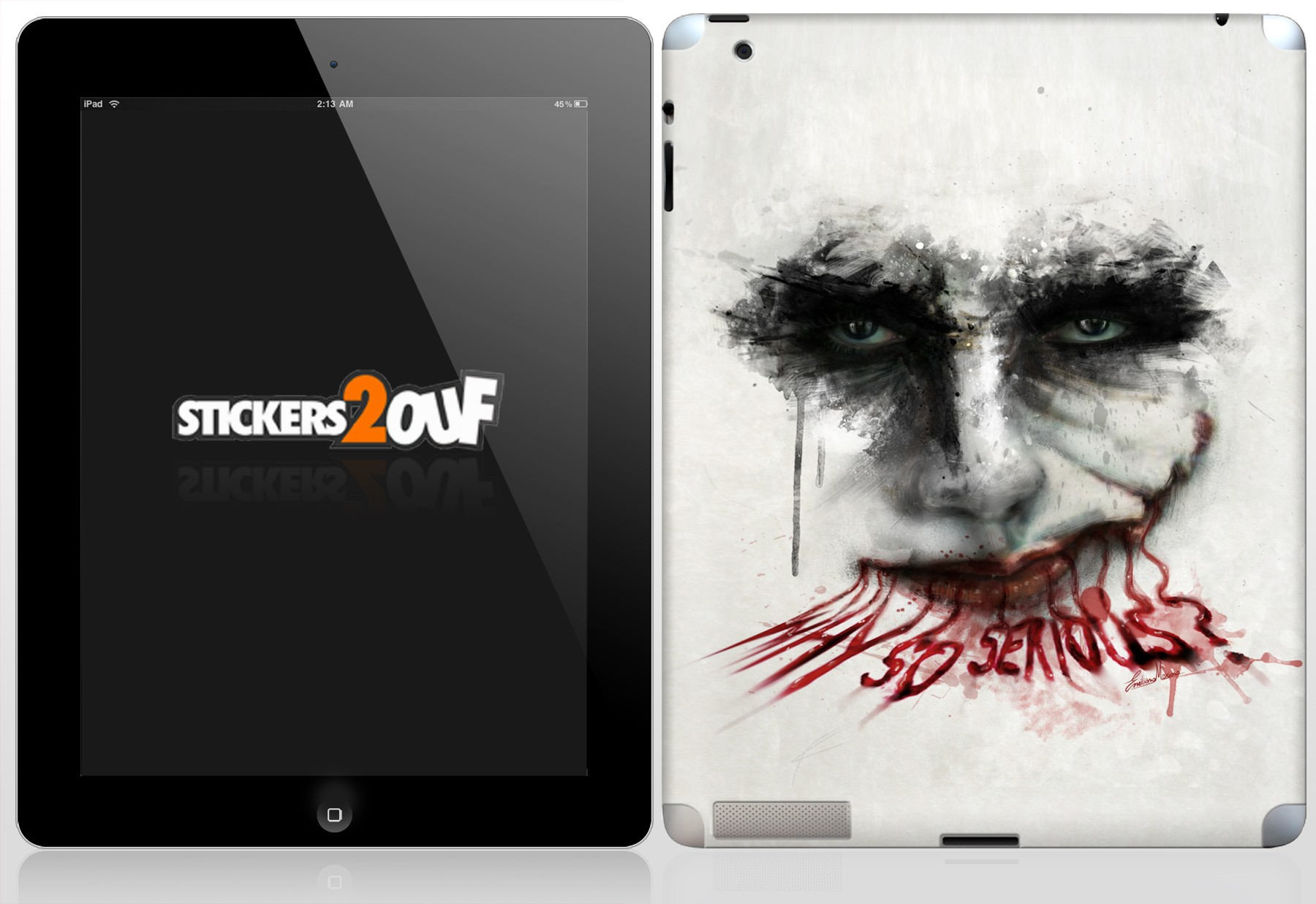 Why So Serious ? iPad 2 et Nouvel iPad