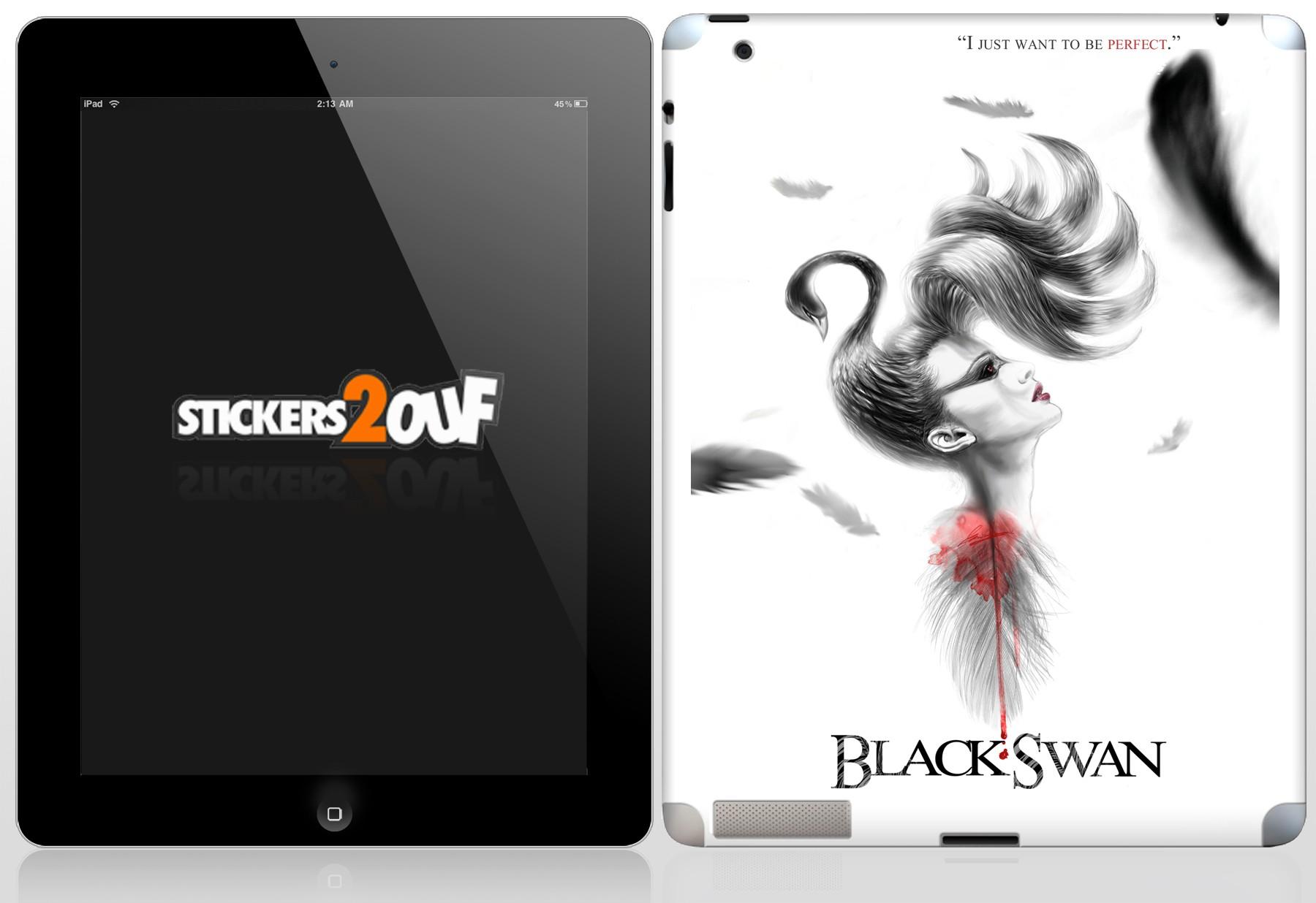 BlackSwan iPad 2 et Nouvel iPad