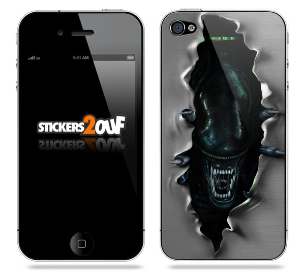 Alien iPhone 4 et 4S