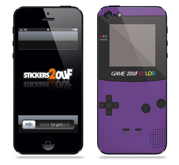 Game2ouf Violet iPhone 5 et 5S