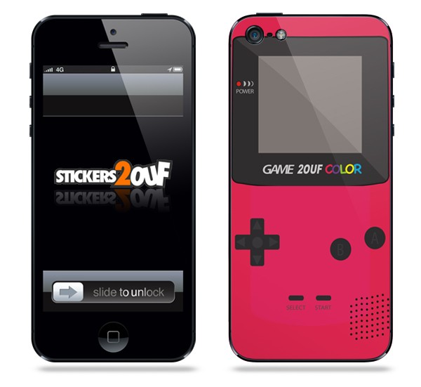 Game2ouf Rouge iPhone 5 et 5S