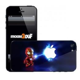 Mini IronMan iPhone 5 et 5S