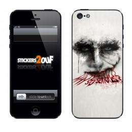 Why So Serious iPhone 5 et 5S