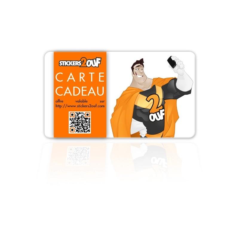 Carte-cadeau Platine 50€