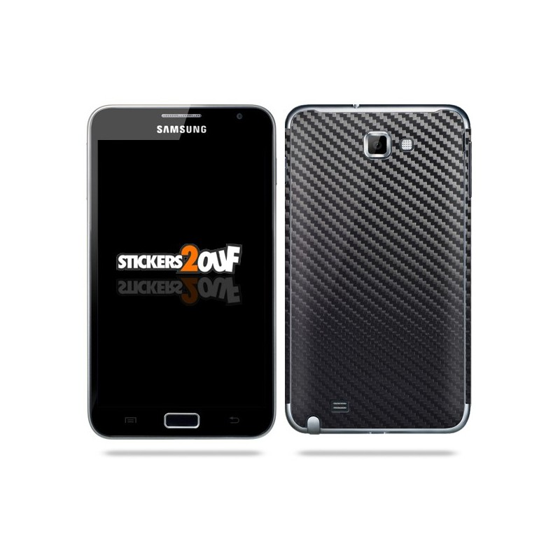Carbon Decal Galaxy Note