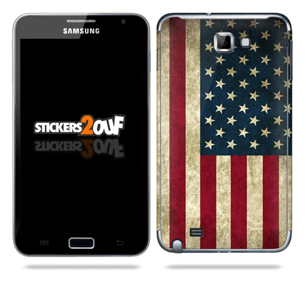 USA Flag galaxy Note