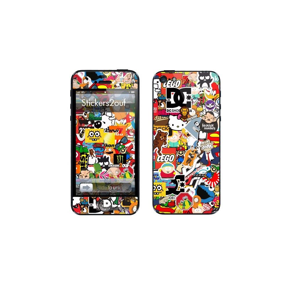 StickerBomb iPhone 5 & 5S