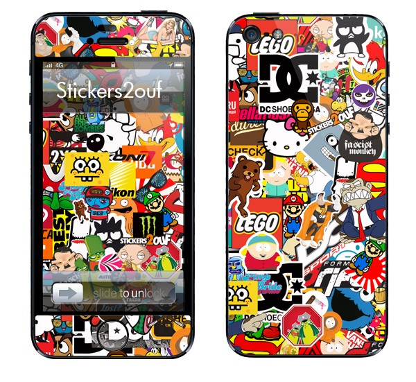 StickerBomb iPhone 5 & 5S