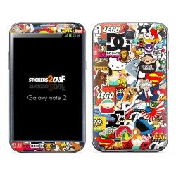 StickerBomb Galaxy Note 2