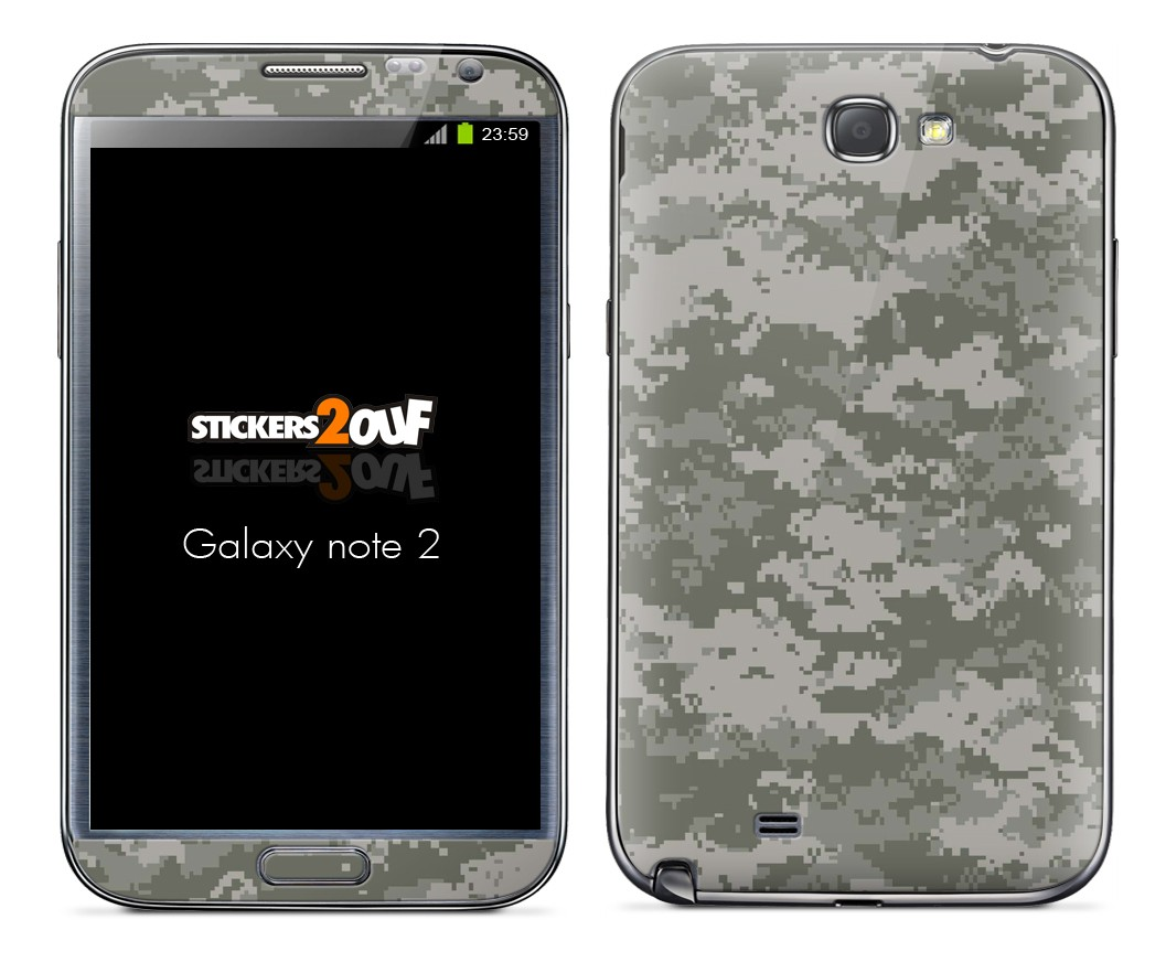 Camouflage Numérique Galaxy Note 2