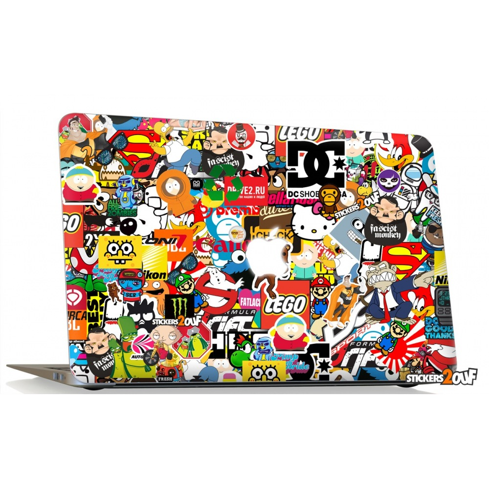 Stickerbomb Macbook Apple Skin