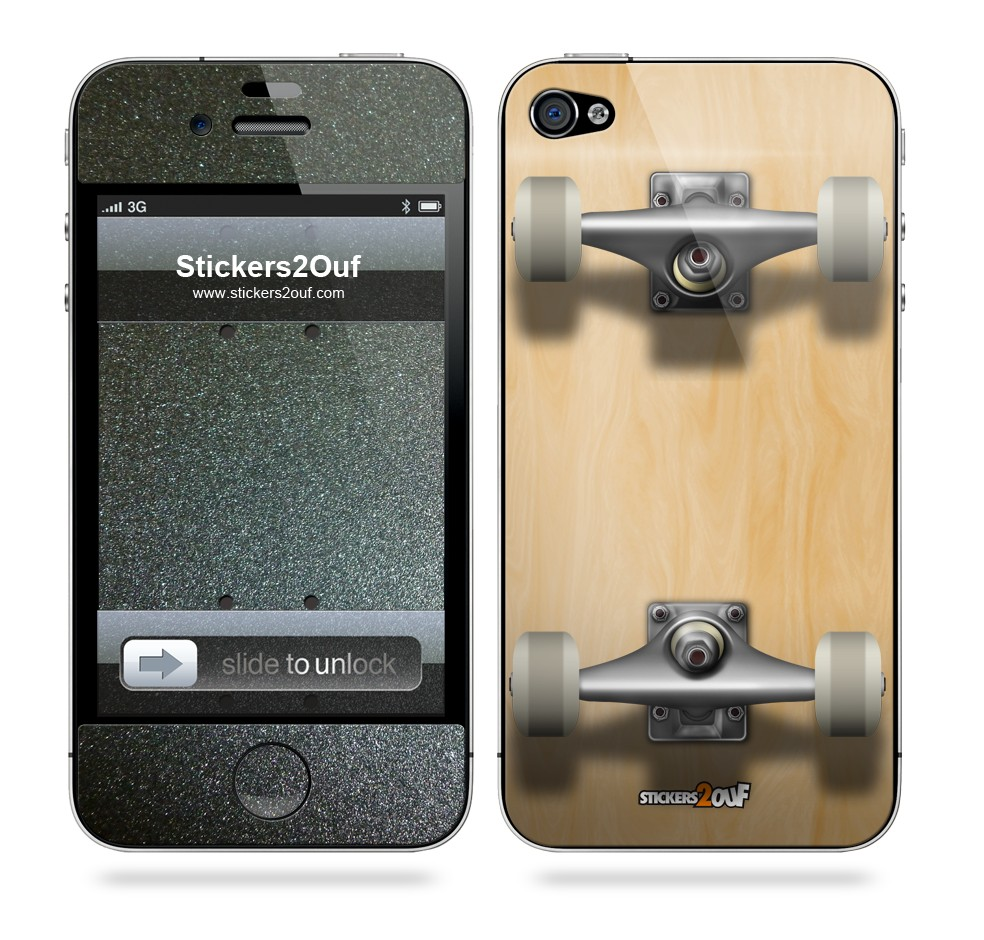 Skateboard iPhone 4 & 4S