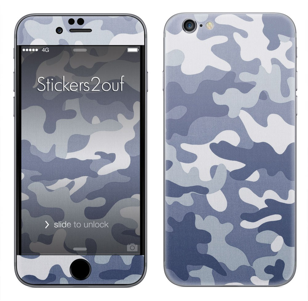 Camo Bleu iPhone 6
