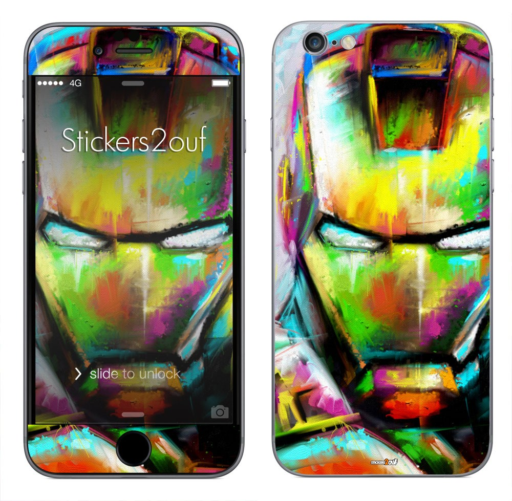 iron paint iPhone 6 et 6S