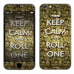 Keep Calm & Roll One iPhone 6