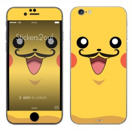 Pikamoustache iPhone 6 et 6S