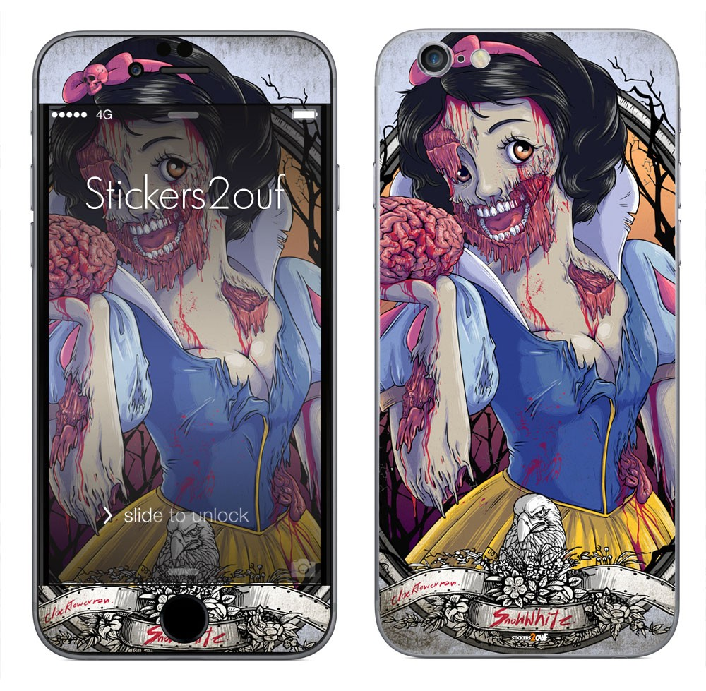 Snow White Zombie iPhone 6