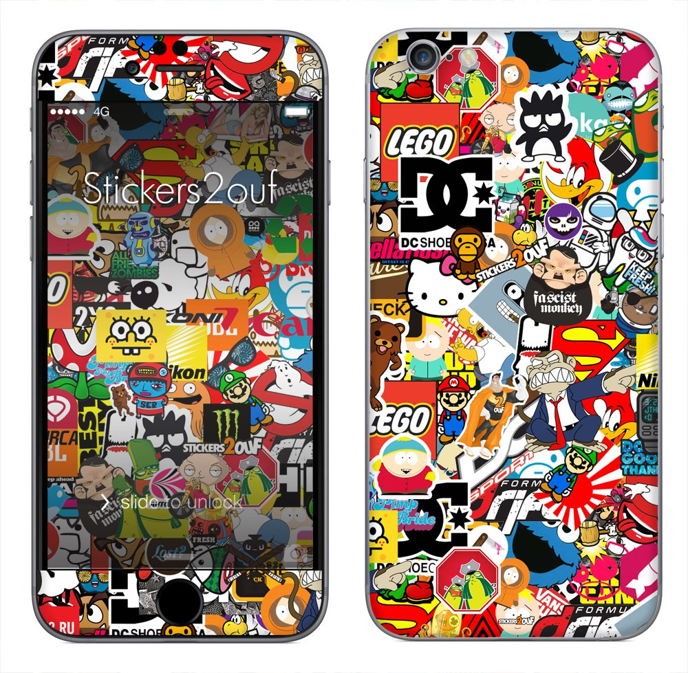 StickerBomb iPhone 6