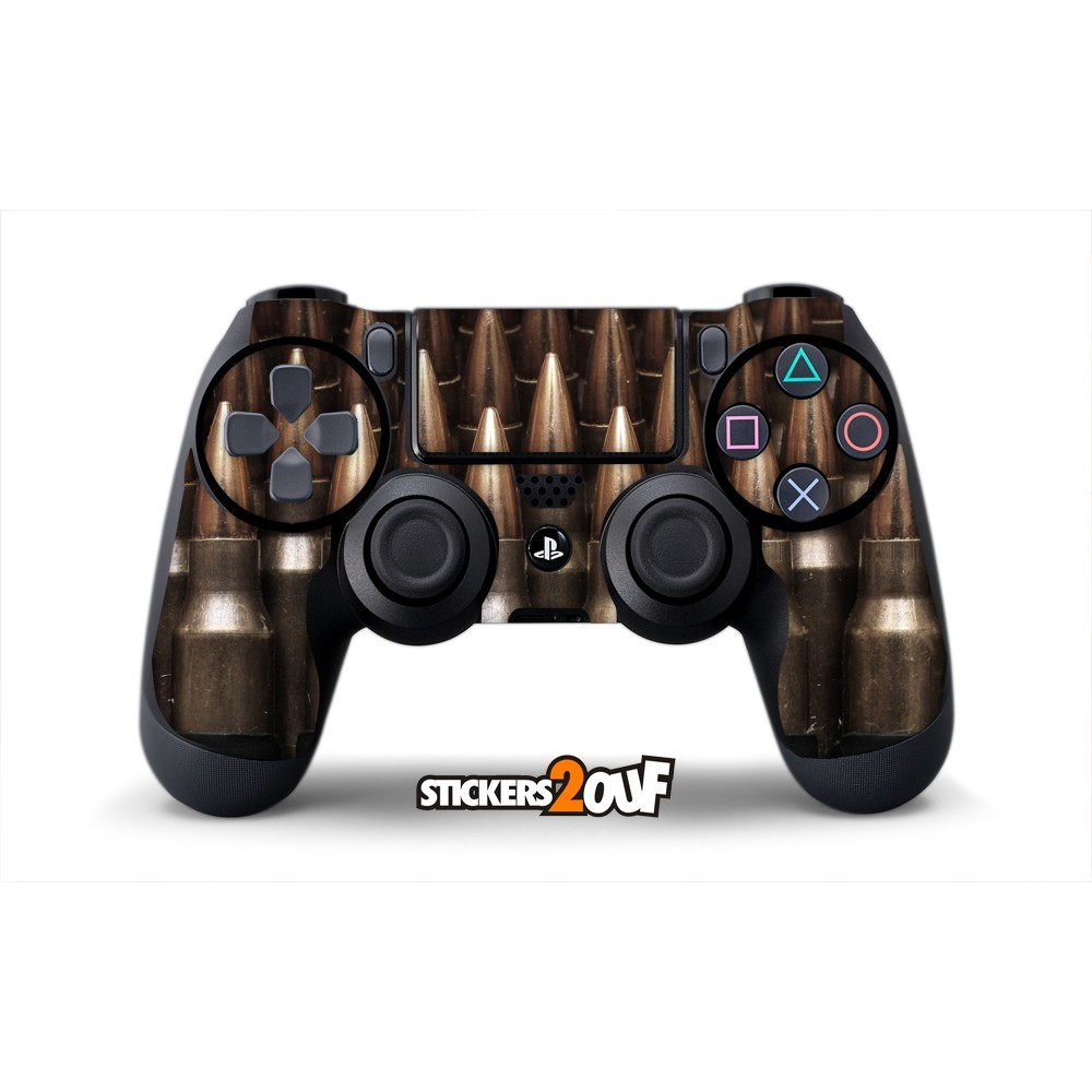 bullets dualshock 4 sony skin. Black Bedroom Furniture Sets. Home Design Ideas