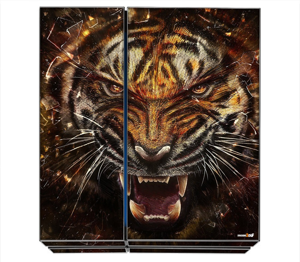 tiger ps4 sony skin. Black Bedroom Furniture Sets. Home Design Ideas