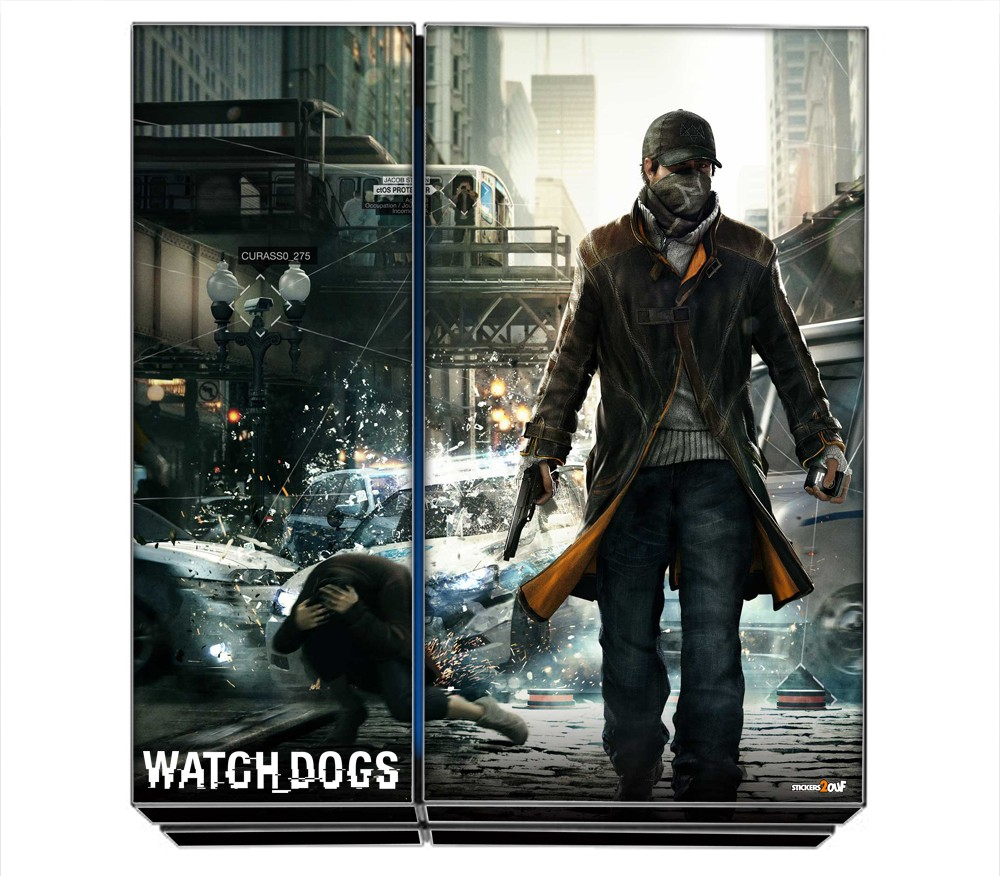watchdogs ps4 sony skin. Black Bedroom Furniture Sets. Home Design Ideas