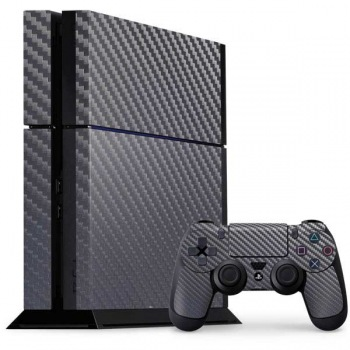 Playstation Skin Carbone