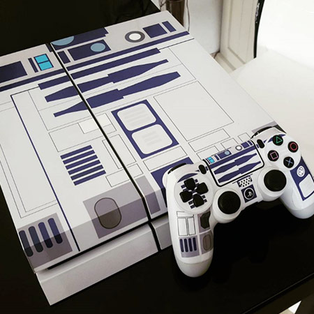 Sticker console manette ps4