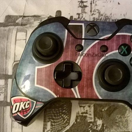 sticker manette xbox one
