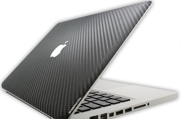 Skin carbone macbook
