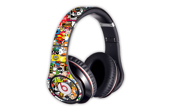 casque beats skin