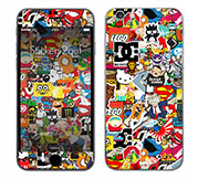 Skins and stickers for smartphone