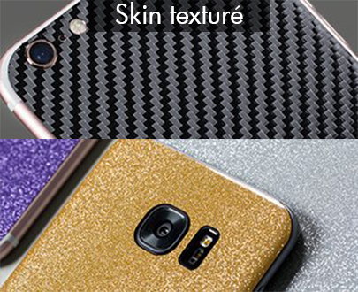 Textured Skin for smartphone, tablet...