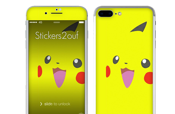 skin pikachu iphone 7 plus